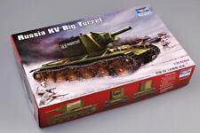 Trumpeter 00311 1/35 Soviet Army KV-2(1939) Tank Static Plastic Model Armor Kit