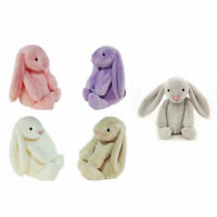 Cute Bunny Soft Plush Toy Rabbit Stuffed Animal Kids Easter Gift Doll Pendant