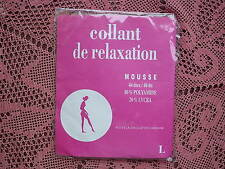 COLLANT de RELAXATION 40 Denier (Support Tights) - BEIGE CLAIR SIZE 1