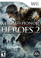 MEDAL OF HONOR HEROES 2 NINTENDO WII AND WII U GAME VERY GOOD CONDITION