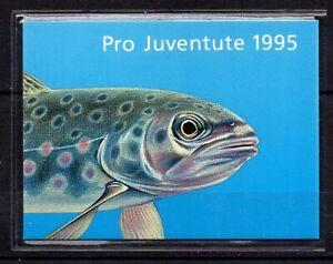 Schweiz, Markenheftchen Michel Nr. 0-103, Pro Juventute Bachforelle 1995, **