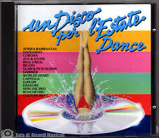 UN DISCO PER L'ESTATE DANCE **FUORI CATALOGO**  **COME NUOVO** MINT