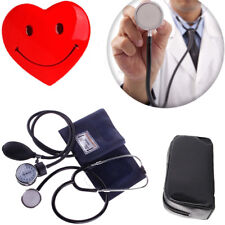 Cuff Blood Pressure Monitor Manual Stethoscope & Sphygmomanometer BP KIT Hot UK