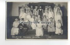 b3576 - Actresses - Theatre Group, Phyllis the Farmers Daughter, 1928 - postcard