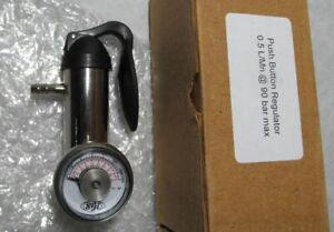 New Industrial Scientific 18109565 Push Button Bump Test Gas Regulator 0.5 LPM