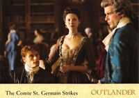 Outlander Season 2 (2017) BASE Trading Card #20 / THE COMTE ST. GERMAIN STRIKES