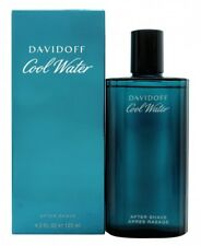 DAVIDOFF COOL WATER AFTERSHAVE 125ML SPLASH - MEN'S FOR HIM. NEW. FREE SHIPPING