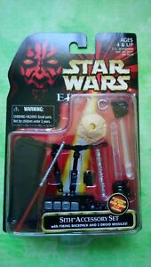 Star wars episode 1 sith accessory set