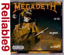 Megadeth - So far so good so what Remastered&Remixed CD+Bonus tracks-1987/2004EU