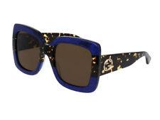 8487f00e4eb Gucci 0083s 003 Blue Havana Brown Gg0083s Sunglasses