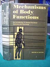 Mechanisms of Body Functions by Dexter M. Easton (Hardback, 1st edition, 1963)