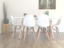 Brand New Replica natural  White High Gloss 1.6m dining table