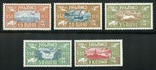 Iceland 1930 Parliament Millenary Scott C4-C8 MNH (**) CV$600 0A