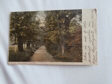 London north west The Avenue new Southgate near Finchley September 1904 postcard