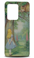 SAMSUNG GALAXY S SERIES PHONE CASE BACK COVER|ALICE IN WONDERLAND CHESHIRE CAT