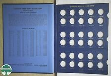 USED LINCOLN CENTS WHITMAN ALBUM #9405 - 1909 to 1940 - NO COINS