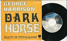 "GEORGE HARRISON 45 TOURS 7"" UK DARK HORSE"