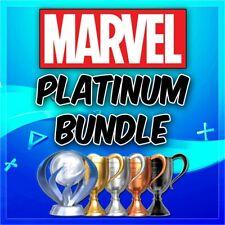 🔥Marvel Games Platinum Trophy Service Deadpool, Capcom +More PSN/PS3/PS4/VITA🔥