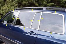 2001-2007 TOYOTA HIGHLANDER 22PC STAINLESS STEEL WINDOW TRIM