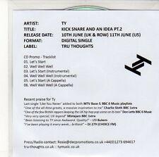 (ED596) TY, Kick Snare and an Idea (Pt. 2) - 2013 DJ CD
