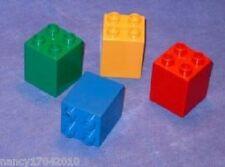 Lego Duplo Steine 4er hoch sondersteine  aus 4960 5765 5648 5641 5649 4665 10596