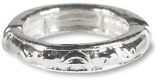 Mens or Ladies Fashion Gift Mrt Adjustable Witness Christian Ring Metal