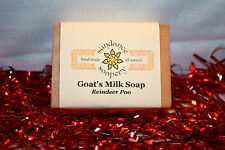 Homemade/Handmade Soap- Goat's Milk- Reindeer Poo- With Cocoa Butter-Great Gift