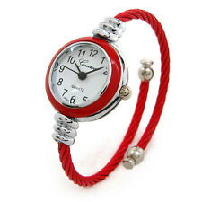 New Geneva Cable Band Women's Small Size Bangle Watch