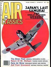 Air Classics Magazine October 1977 Japan's Last Samurai EX No ML 120816jhe