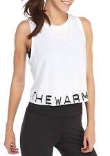 Jessica Simpson Workout White, Yoga, Tank Top Shirt Tee Gym Blouse M & L