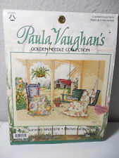 PAULA VAUGHAN'S Summer Welcome COUNTED CROSS STITCH 113971 NEW