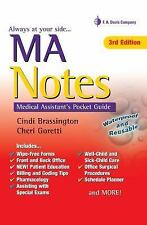 MA Notes: Medical Assistant's Pocket Guide, Goretti MA  MT(ASCP)  CMA (AAMA), Ch
