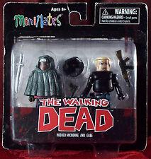 WALKING DEAD MiniMates HOODED MICHONNE & GABE Series 4 - NEW SEALED
