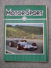 Motor Sport Nov 1969, US, Mexican, Canadian GPs, Fiat 125, Hewland,200 Mile Race