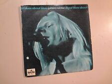 "JOHNNY WINTER: About Blues-Portugal 7"" 1970 Tecla TI 10040 EP 4 Tracks, PCV"
