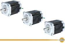 DE Free 3PCS Nema34 Schrittmotor 34HS1450D12.7L34J5-5 114mm 1140oz-in Φ12.7mm 5A