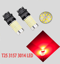 Front Signal Light 144 LED Bulb Red CK T25 3157 3057 3457 4157 B1 For Ford