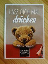 Werbepostkarte - Lass dich mal drücken - Teddybär - Teddy / Bär - Karte - Neu