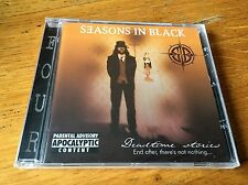 SEASONS IN BLACK Deadtime stories End after, there's not nothing... - CD
