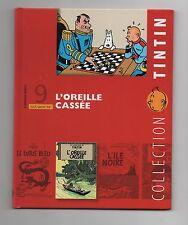 Collection Tintin Moulinsart Hachette 2010. n°9. L'Oreille cassée. NEUF