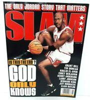 "MICHAEL JORDAN on cover of ""SLAM"" Sports Magazine August 1998 Illustrated NICE"