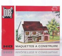 MINT UNMADE JOUEF 1975 HO GAUGE  KIT - AUBERGE NORMANDE - NORMAN INN, PUB