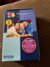 Epson T5845M PictureMate 200 Print Pack Tri-Color InK Matte Photo EXPIRED