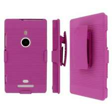 MPERO Collection 3 in 1 Tough Hot Pink Kickstand Case for Nokia Lumia 925