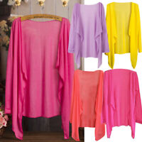 Summer Women Long Thin Cardigan Modal Sun Protection Clothing Tops Cover UP