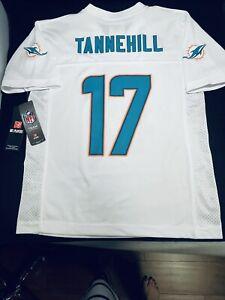NFL Team Apparel Miami Dolphins Tannehill #17 Jersey Youth Kids Sz Medium 10/12