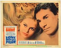 LOVE ON A PILLOW Lobby Card #6 BRIGITTE BARDOT 1962 aka Le Repos du Guerrier