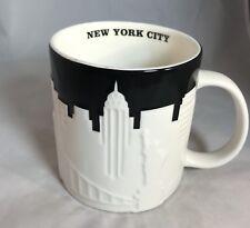 Starbucks Original New York City Relief 2012 Coffee Mug 16oz NWT!!!
