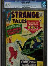 STRANGE TALES #117 CGC 8.5 1964 EARLY FANTASTIC FOUR & EEL APPEARANCE JACK KIRBY