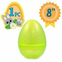 Totem World Jumbo Fillable Plastic Easter Egg Hunt Party Supply - 8-Inch...